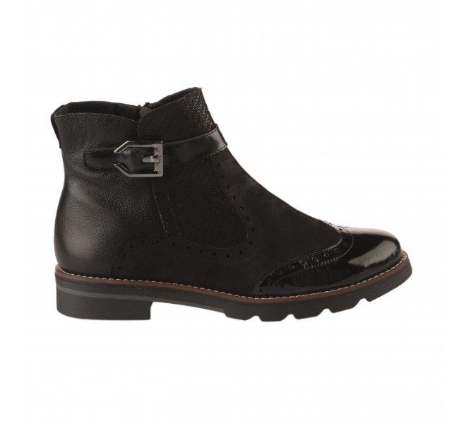 REINO femme Boots Noir GEO Boots femme roxBeWdC