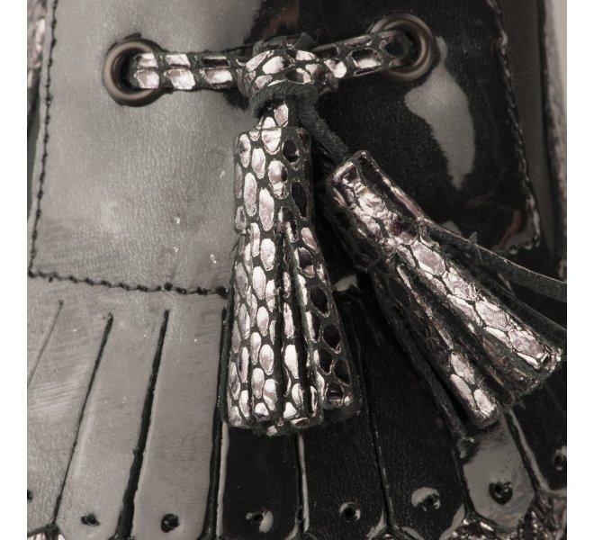Mocassins femme - GEO REINO - Noir