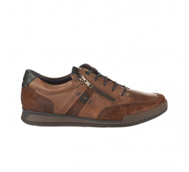 lacets FLUCHOS Chaussures homme fonce à Marron 1FlKJc