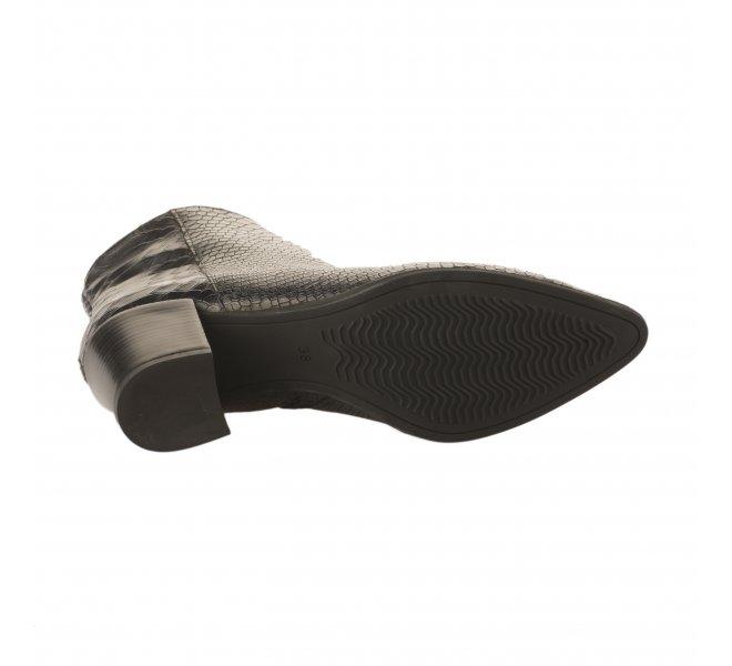 Boots femme - MIGLIO - Bleu marine