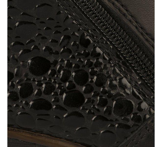 Boots femme - RIEKER - Noir