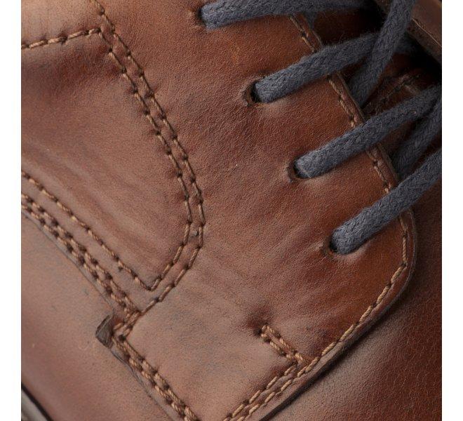 Chaussures à lacets homme - RIEKER - Naturel