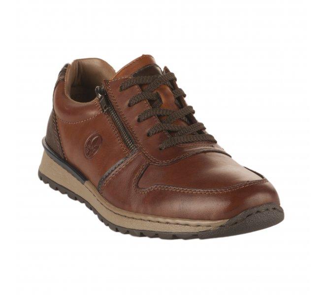 Chaussures à lacets homme - RIEKER - Marron