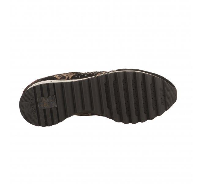 Baskets mode femme - GEOX - Leopard