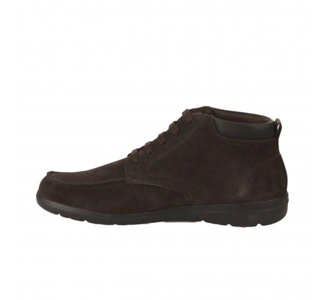 Chaussures à lacets homme - GEOX - Marron fonce