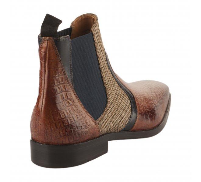 Boots homme - MELVIN & HALMILTON - Naturel