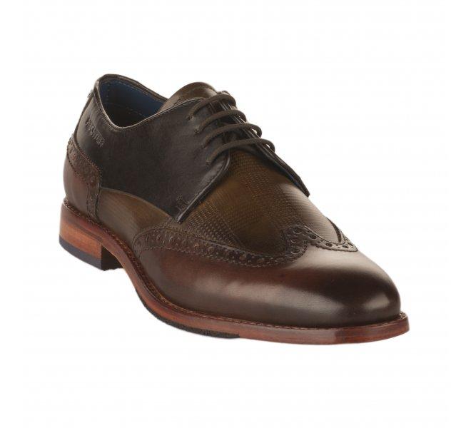 Chaussures à lacets homme - DANIEL HECHTER - Marron