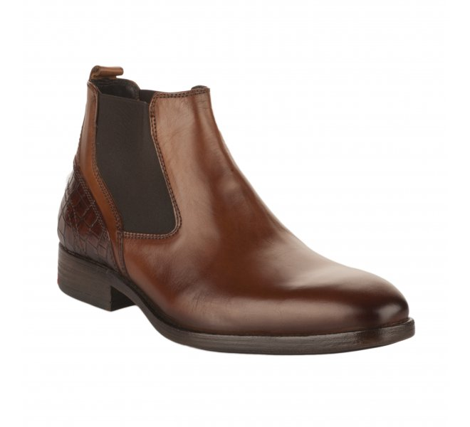 Boots homme - FIRST COLLECTIVE - Naturel