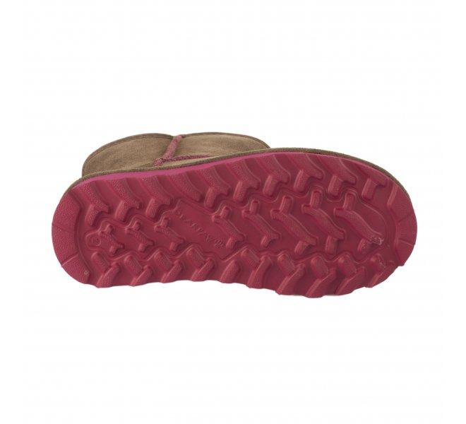 Boots fille - BEARPAW - Marron moka