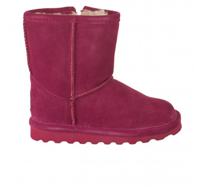 Boots fille - BEARPAW - Rose
