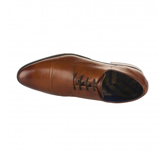 Chaussures à lacets homme - BUGATTI - Marron cognac