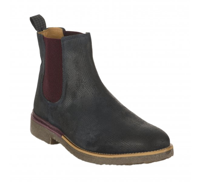 Boots homme - BULLBOXER - Bleu marine