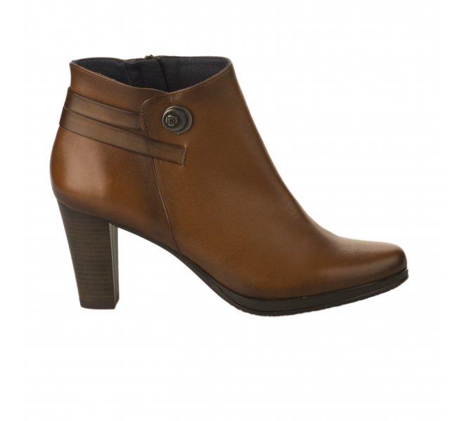 boots camel femme