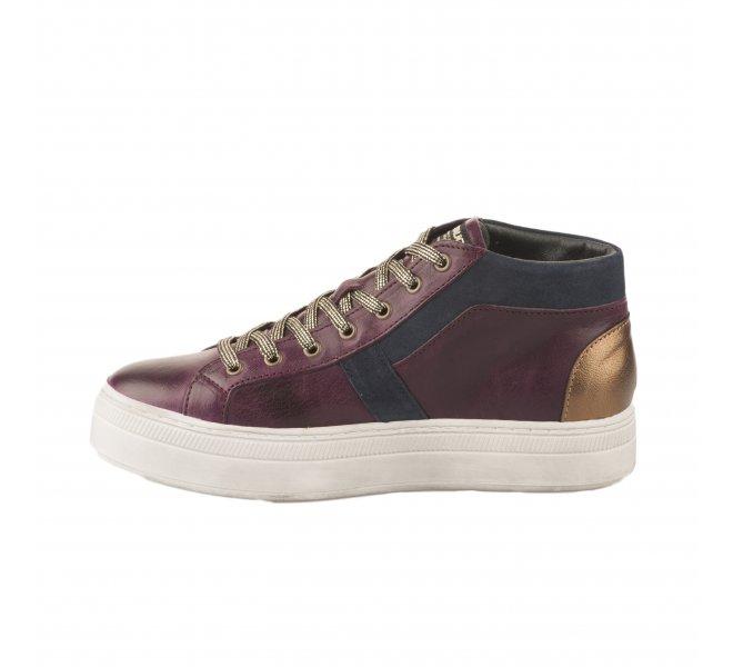 Baskets mode femme - PATAUGAS - Violet prune