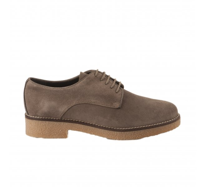 Chaussures à lacets femme - ALFA - Taupe
