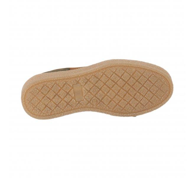 Baskets mode femme - ALFA - Marron cognac