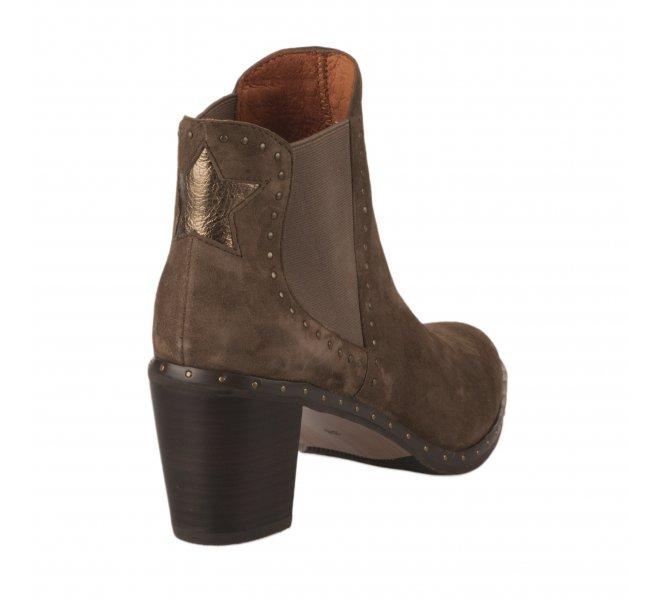 Boots femme - MAM'ZELLE - Taupe