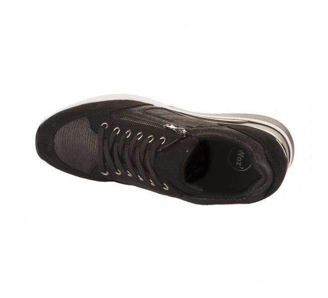 Baskets mode femme - WOZ - Noir