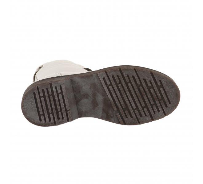 Boots femme - MUSTANG - Blanc