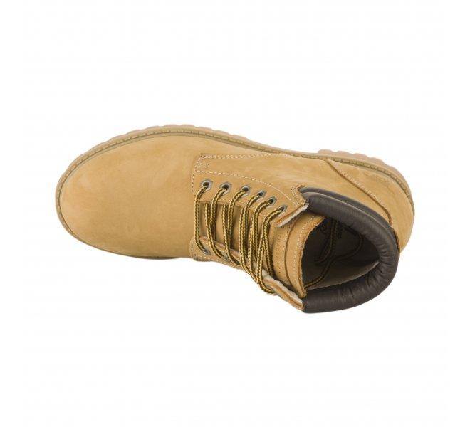 Boots femme - MUSTANG - Marron chamois