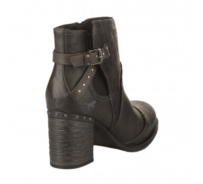 Boots femme - MUSTANG - Gris anthracite