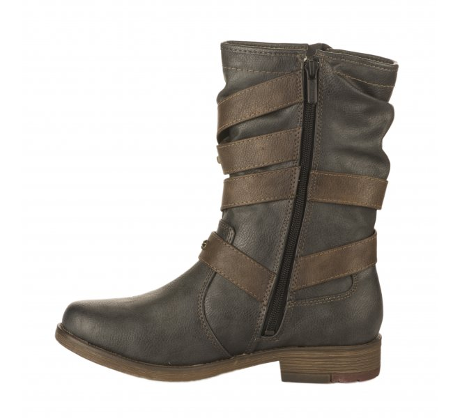 Boots femme - MUSTANG - Gris fonce