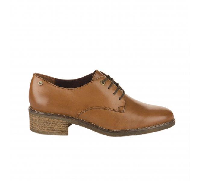 Chaussures à lacets femme - TAMARIS - Marron cognac