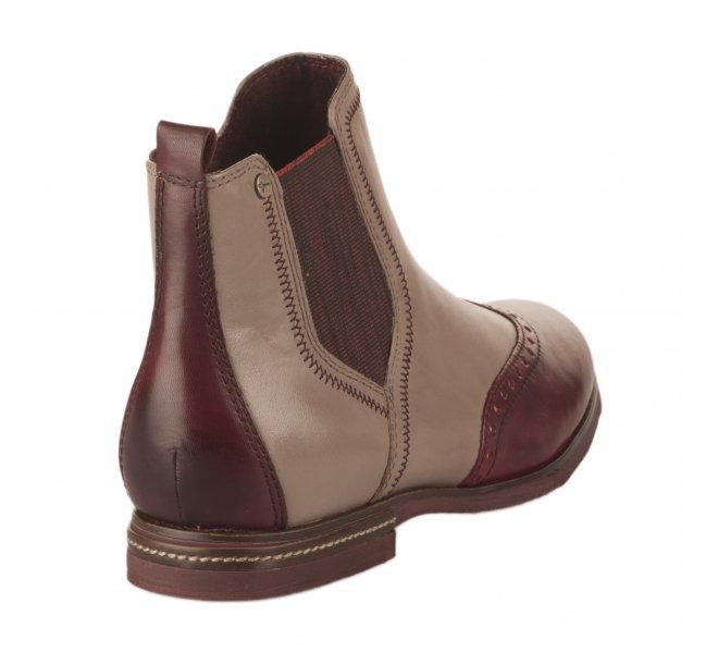 Boots femme - TAMARIS - Bicolore