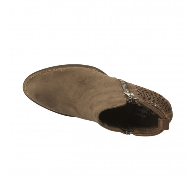 Boots femme - XTI - Taupe