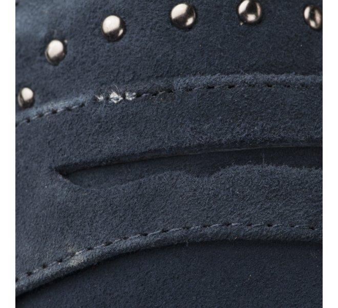 Mocassins femme - CARMELA - Bleu marine
