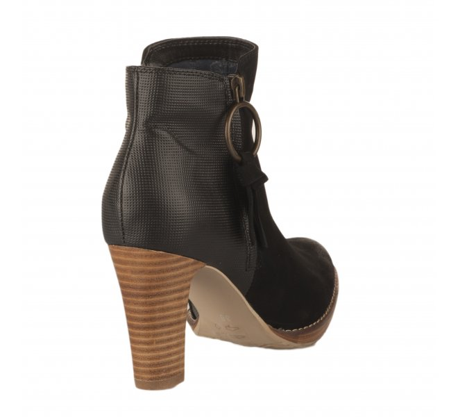 Boots femme - FUGITIVE - Noir