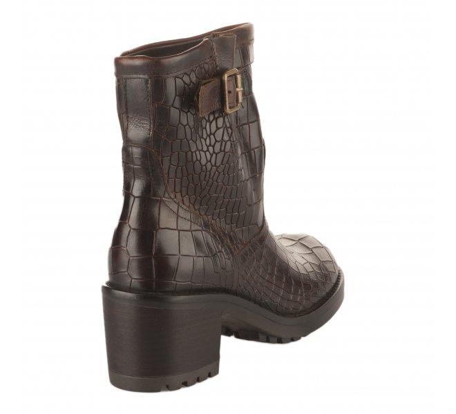 Boots femme - FELMINI - Marron fonce