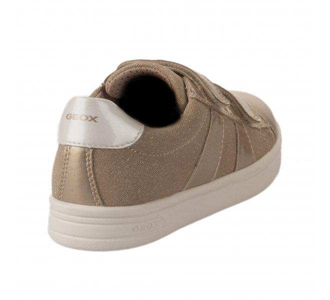 Baskets fille - GEOX - Beige dore
