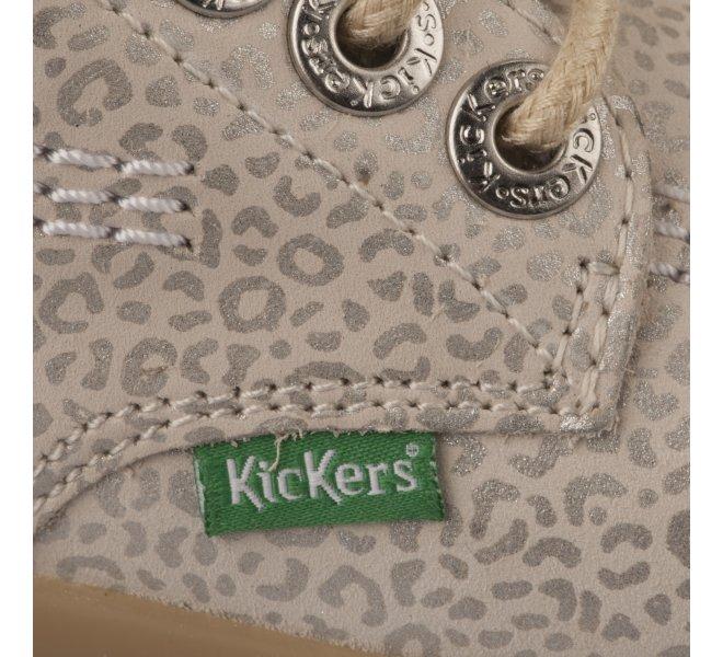Bottines fille - KICKERS - Gris argent
