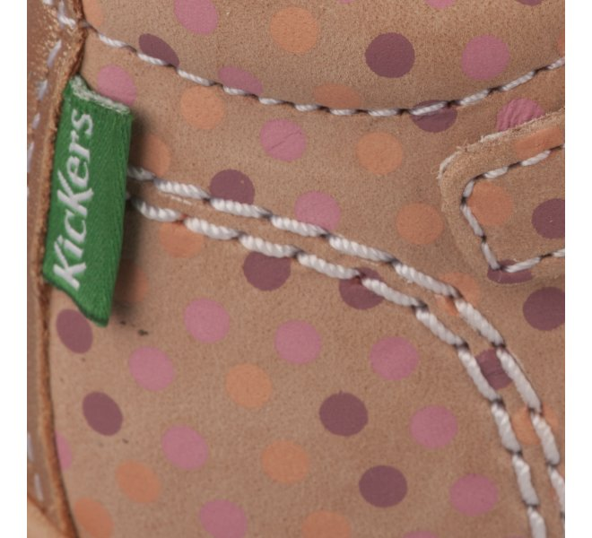 Nu-pieds fille - KICKERS - Rose