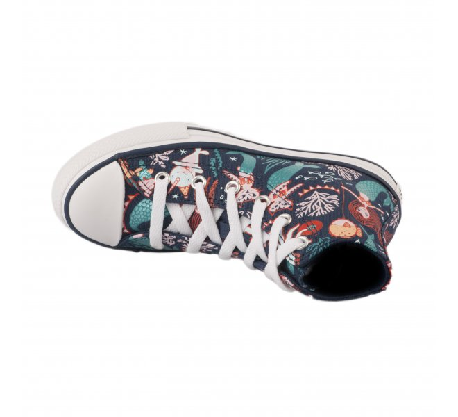 Baskets fille - CONVERSE - Bleu marine