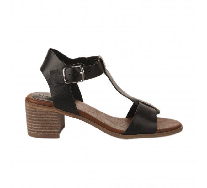 Nu pieds femme - KICKERS - Noir
