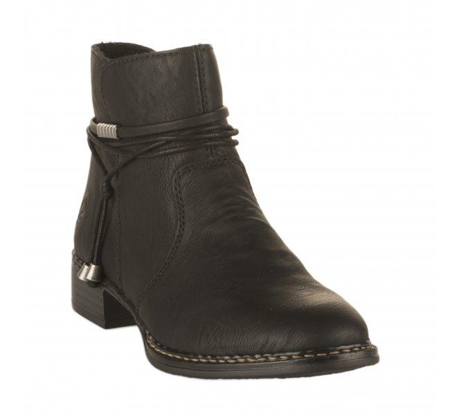 boots rieker sans talon femme