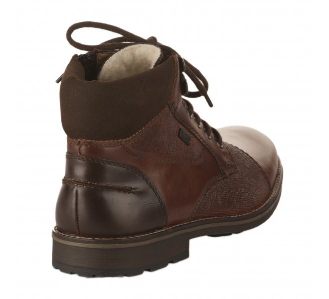 Bottines homme - RIEKER - Marron