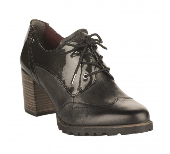 Chaussures à lacets femme TAMARIS Gris fonce