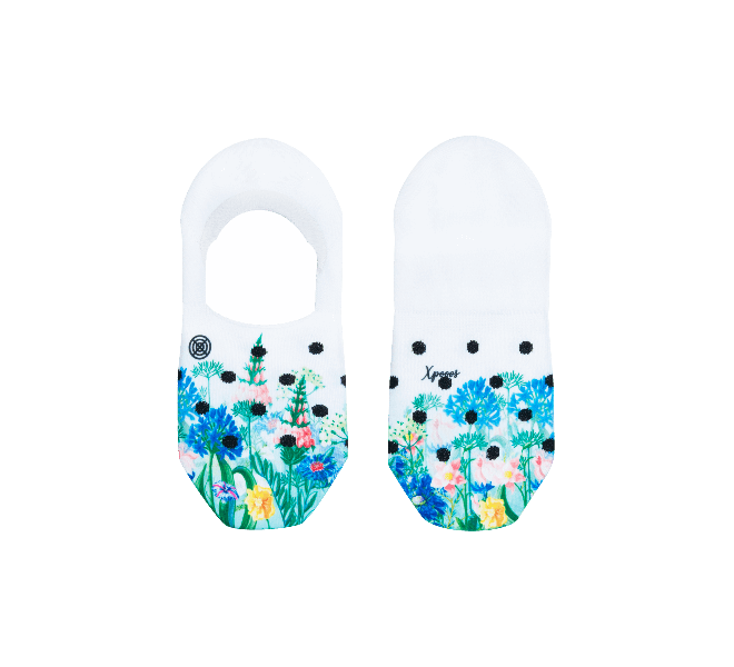 Chaussettes femme - XPOOOS - Blanc