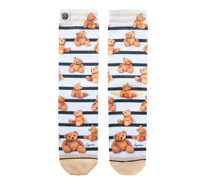 Chaussettes femme - XPOOOS - Beige