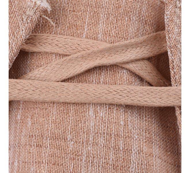 Baskets mode femme - DUDE - Rose dore