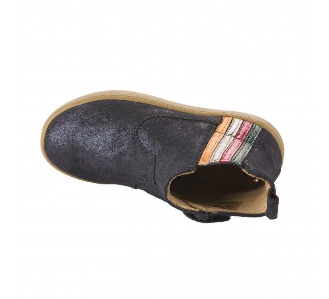 Boots fille - SHOO POM - Bleu marine