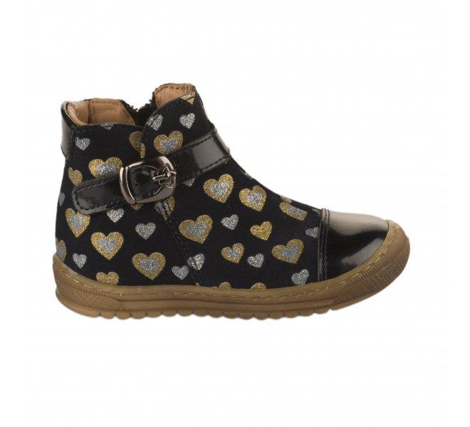 Boots fille - BELLAMY - Bleu