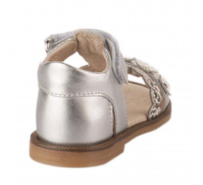 Nu-pieds fille - POLDINO - Gris argent