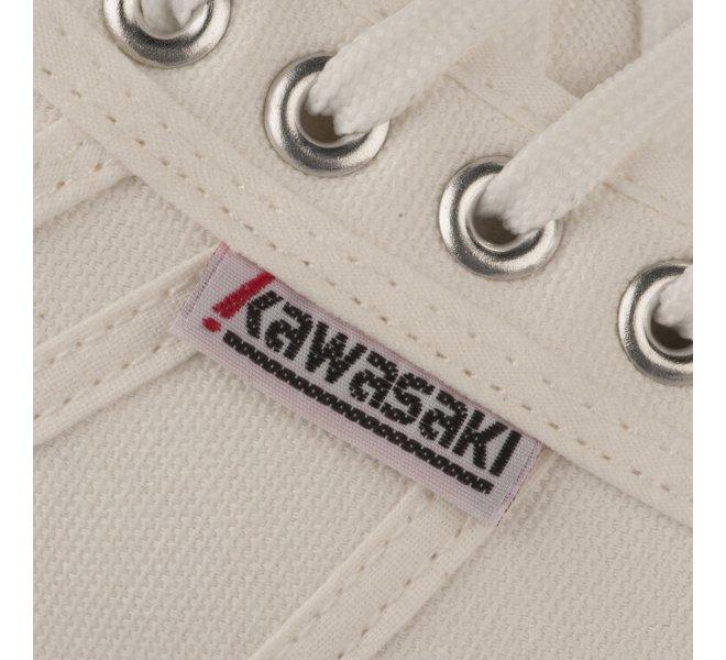 Baskets garçon - KAWASAKI - Blanc