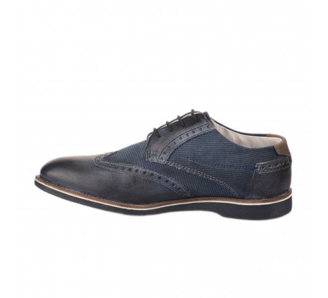 Chaussures à lacets homme - BUGATTI - Bleu