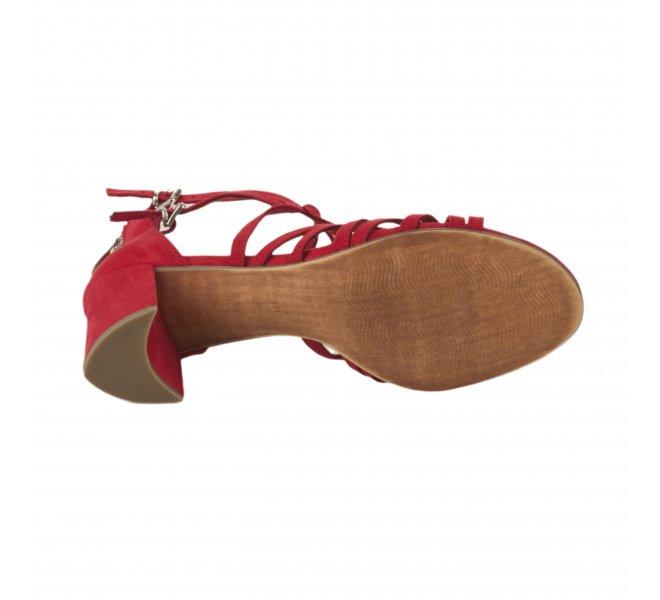Nu pieds femme - MARCO TOZZI - Rouge