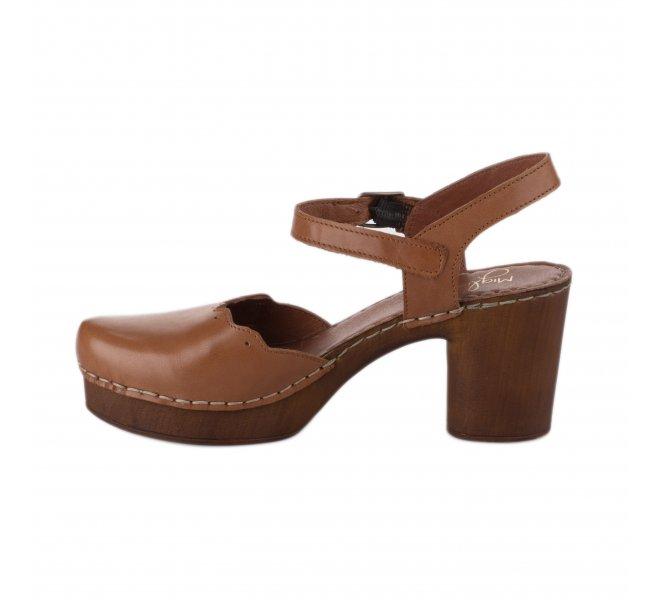 Nu pieds femme - MIGLIO - Marron